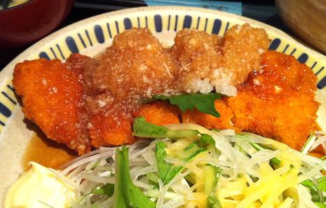 鶏のおろしポン酢 900円